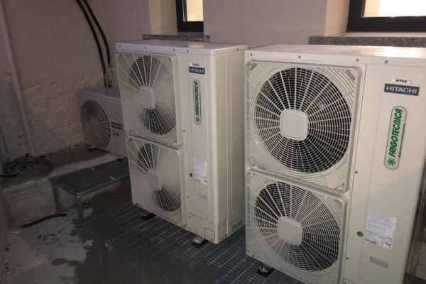 Pompe di calore ad inverter da 4 a 20 kw